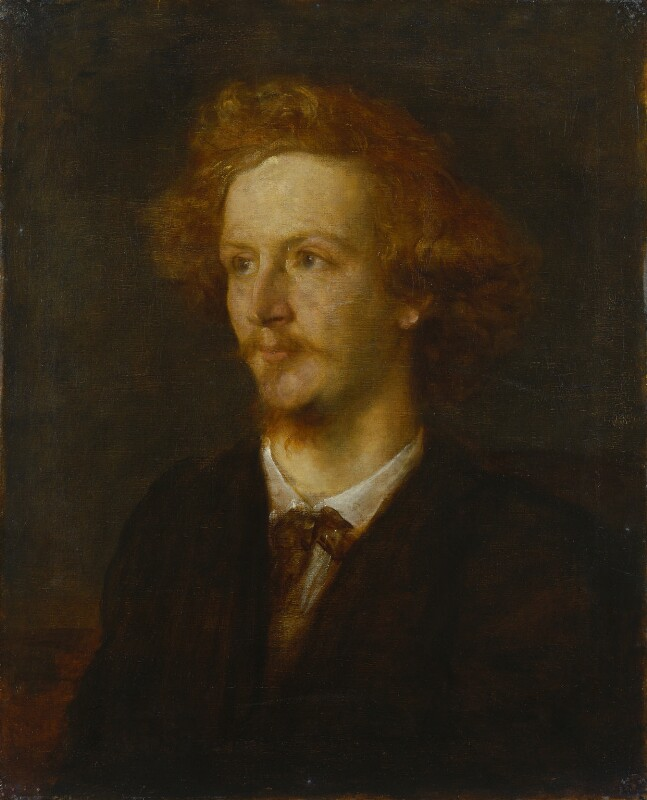 Algernon Charles Swinburne, by George Frederic Watts, 1867 - NPG 1542 - © National Portrait Gallery, London