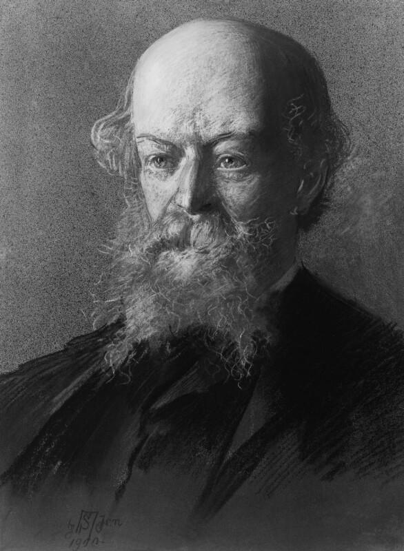 Algernon Charles Swinburne, by Sir Robert Ponsonby Staples, Bt, 1900 - NPG 2217 - © National Portrait Gallery, London