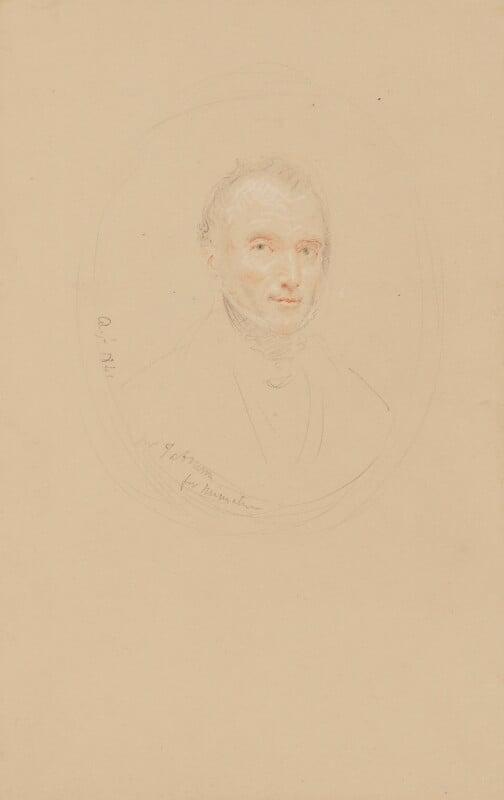 Litchfield Tabrum, by John Linnell, 1841 - NPG 1818a - © National Portrait Gallery, London