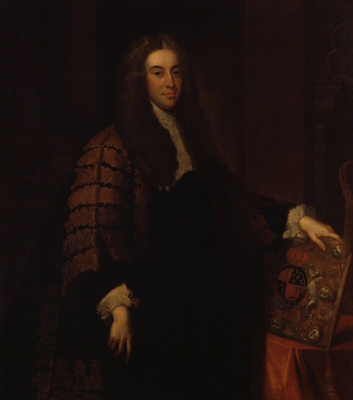 Charles Talbot, 1st Baron Talbot of Hensol, after John Vanderbank, 1733-1739 - NPG 42 - © National Portrait Gallery, London