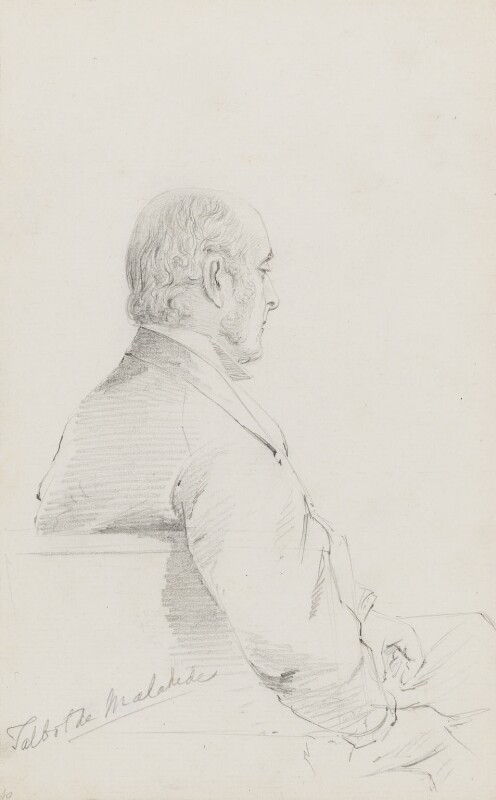 James Talbot, 4th Baron Talbot de Malahide, by Frederick Sargent, 1870s - NPG 1834(ee) - © National Portrait Gallery, London