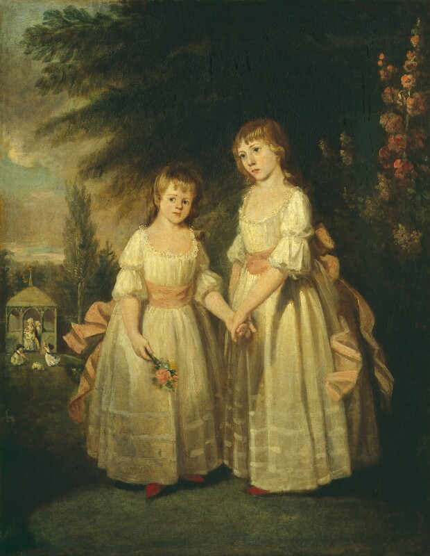 The Taylor Family (Martin Taylor; Ann Taylor; Jefferys Taylor; Isaac Taylor; Isaac Taylor; Jane Taylor; Ann Taylor), by Isaac Taylor, 1792 - NPG 1248 - © National Portrait Gallery, London