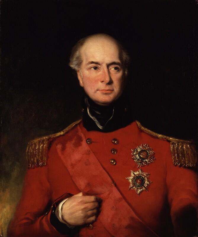 Sir Herbert Taylor, by John Simpson, exhibited 1833 - NPG 2878 - © National Portrait Gallery, London