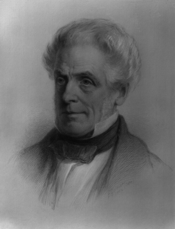 Isaac Taylor, replica by Josiah Gilbert, 1862 - NPG 884 - © National Portrait Gallery, London