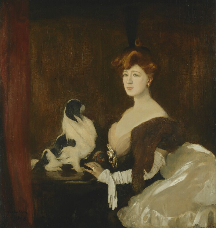 Marie Tempest, by William Nicholson, 1903 - NPG 5191 - © Desmond Banks