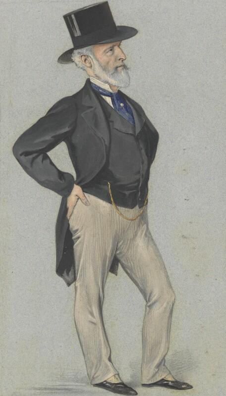 Sir Charles Clow Tennant, 1st Bt, by (Pierre) François Verheyden, published in Vanity Fair 9 June 1883 - NPG 4745 - © National Portrait Gallery, London