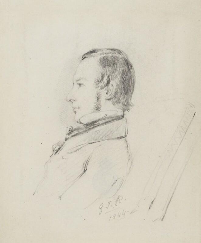 Sir John Tenniel, by Unknown artist, 1844 -NPG 2002 - © National Portrait Gallery, London