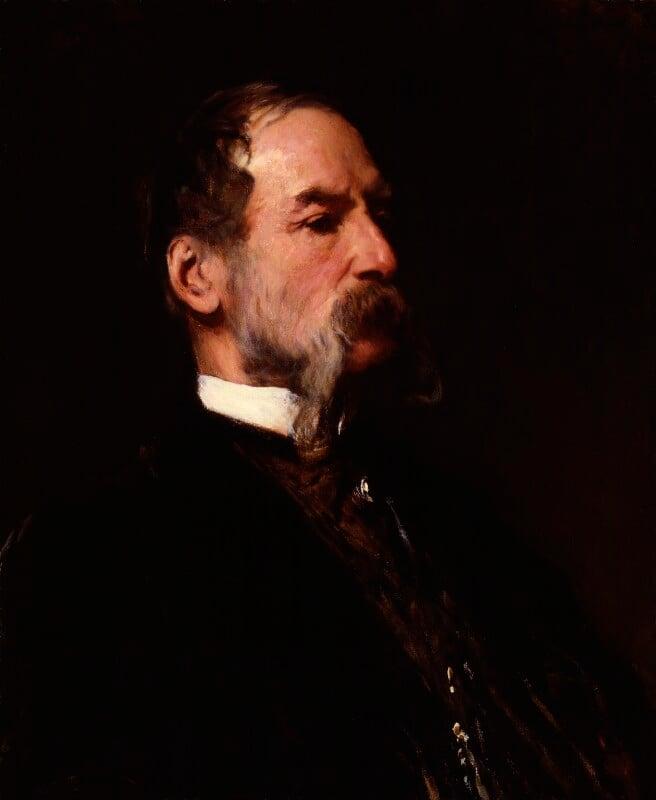 Sir John Tenniel, by Frank Holl, 1883 - NPG 1596 - © National Portrait Gallery, London