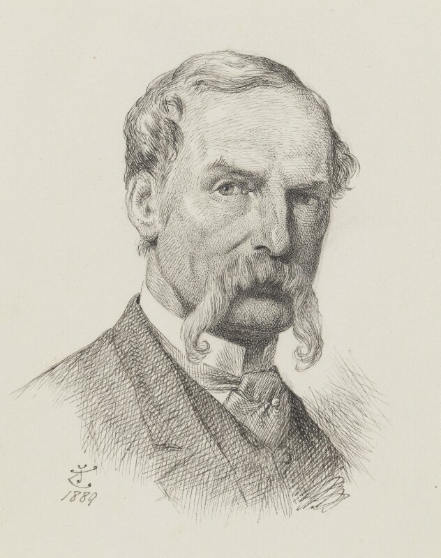 Sir John Tenniel, by Sir John Tenniel, 1889 -NPG 2818 - © National Portrait Gallery, London