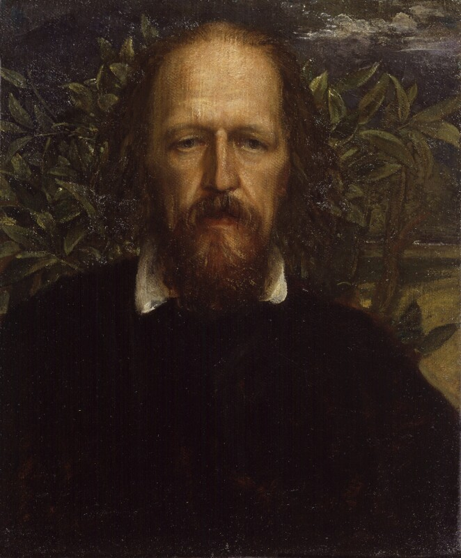 Alfred, Lord Tennyson, by George Frederic Watts, circa 1863-1864 -NPG 1015 - © National Portrait Gallery, London