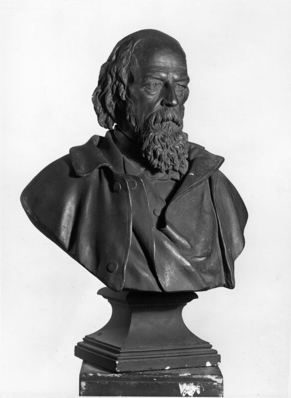 Alfred, Lord Tennyson, by Francis John Williamson, 1893 - NPG 1178 - © National Portrait Gallery, London