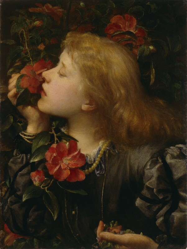Ellen Terry ('Choosing'), by George Frederic Watts, 1864 - NPG 5048 - © National Portrait Gallery, London