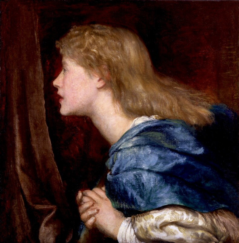 Ellen Terry, by George Frederic Watts, circa 1864-1865 -NPG 2274 - © National Portrait Gallery, London