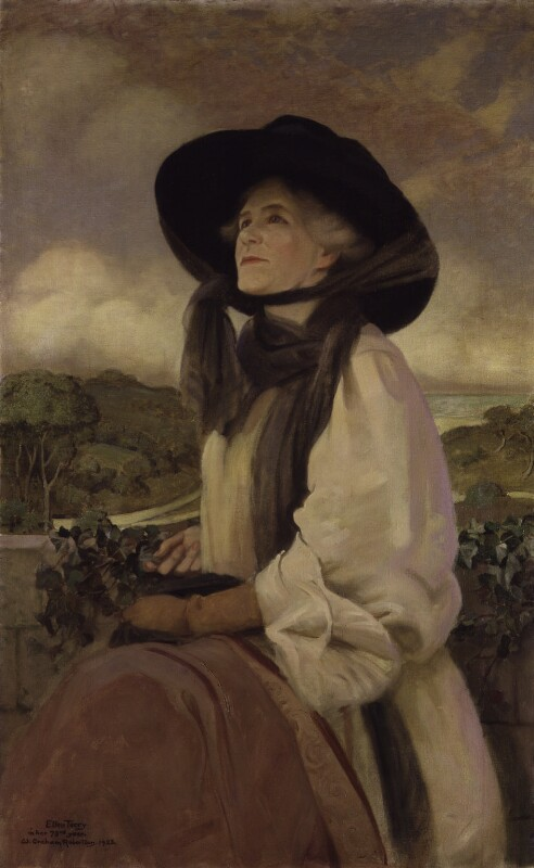 Ellen Terry, by Walford Graham Robertson, 1923 - NPG 3132 - © reserved; collection National Portrait Gallery, London