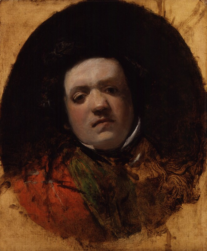 William Makepeace Thackeray, by Frank Stone, circa 1839 - NPG 4210 - © National Portrait Gallery, London