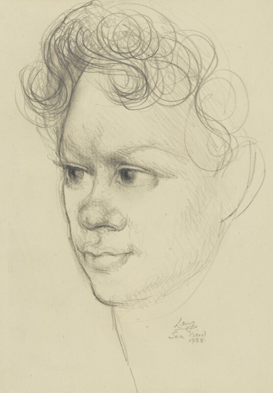 Dylan Thomas, by Mervyn Levy, 1938 - NPG 4334 - © National Portrait Gallery, London