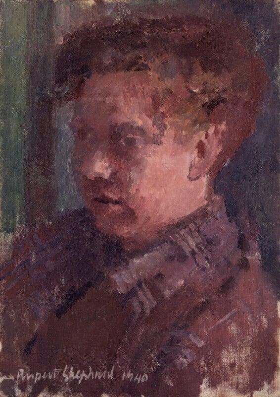 Dylan Thomas, by Rupert Shephard, 1940 - NPG 4285 - © estate of Rupert Shephard