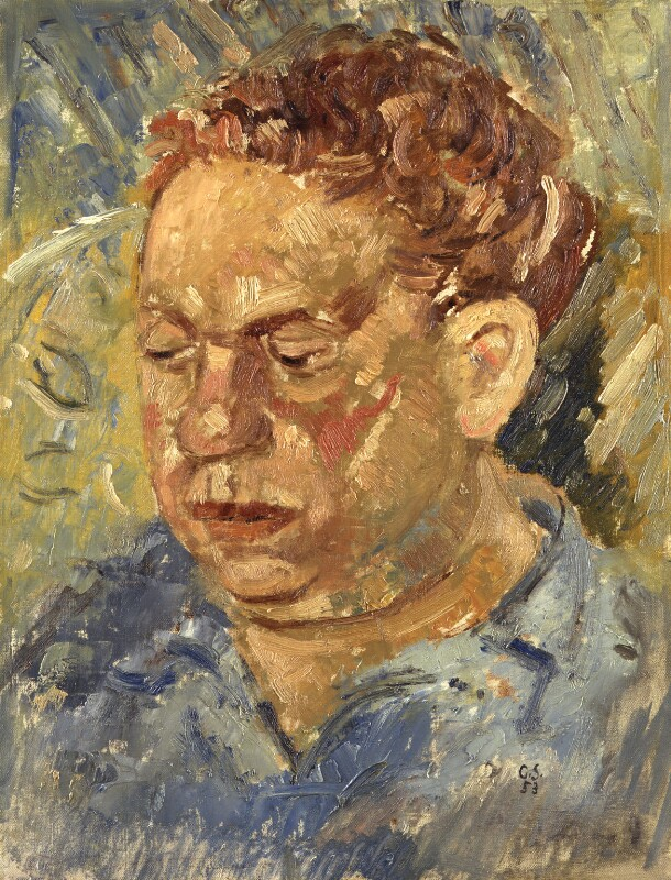 Dylan Thomas, by Gordon Stuart, 1953 - NPG 4274 - © National Portrait Gallery, London