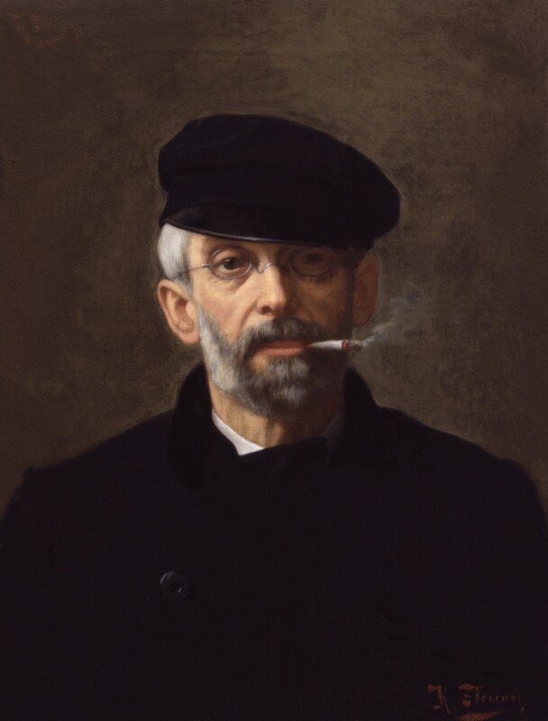 Hugh Owen Thomas, by Hermann Fleury, 1880s -NPG 3167 - © National Portrait Gallery, London