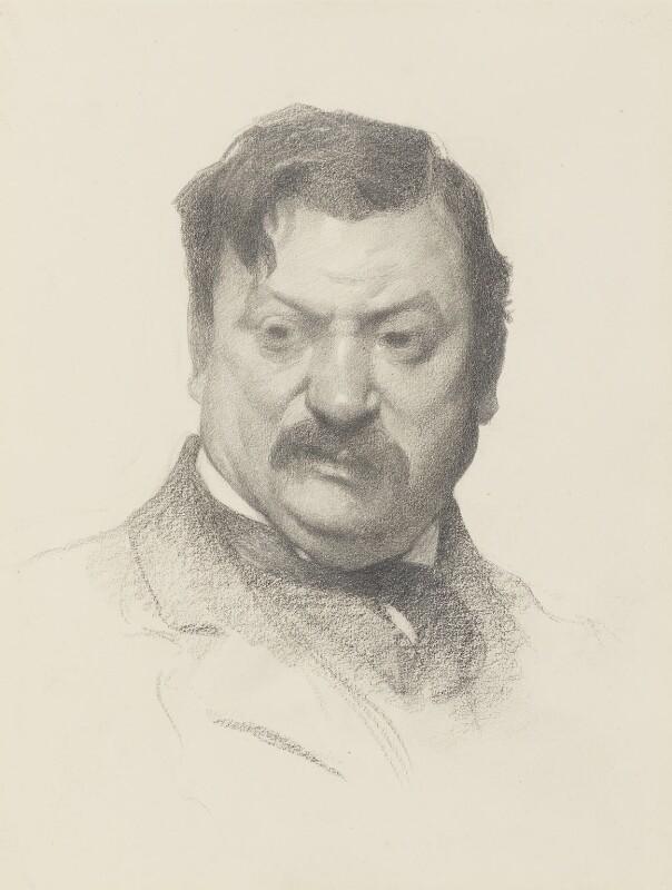 James Havard Thomas, by James Kerr-Lawson, circa 1910 -NPG 2115 - © National Portrait Gallery, London