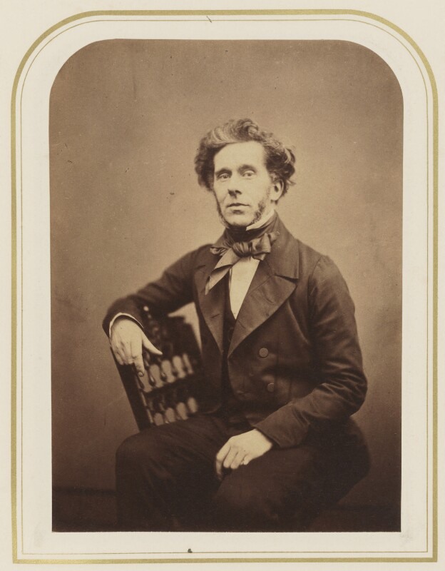 Theophilus Thompson, by Maull & Polyblank, 1855 - NPG P120(32) - © National Portrait Gallery, London