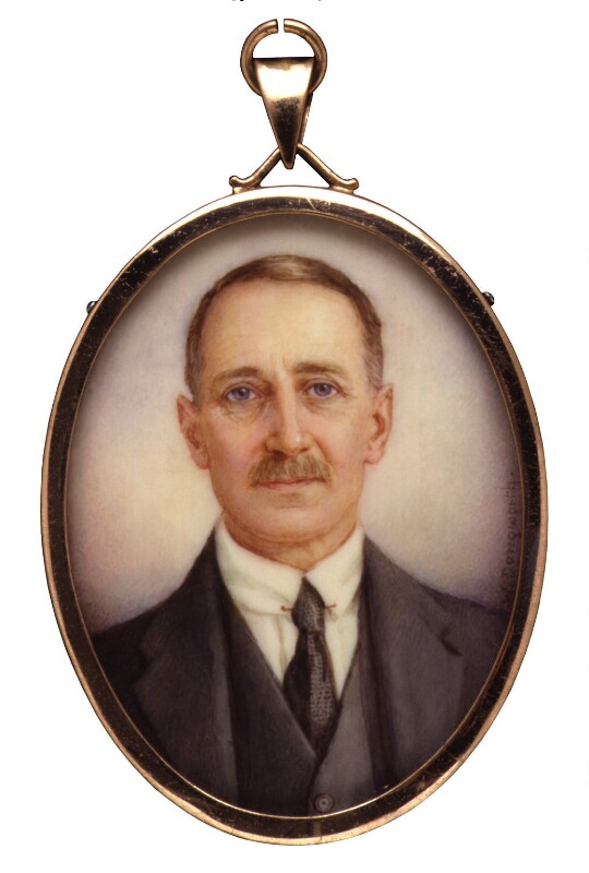 Christopher Birdwood Thomson, Baron Thomson, by Winifred Cécile Dongworth, 1920-1930 - NPG 5031 - © National Portrait Gallery, London