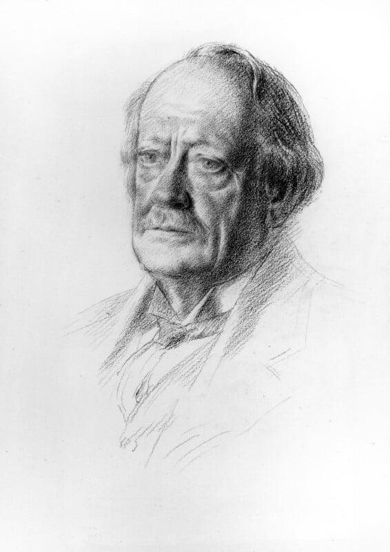 Sir Joseph John Thomson, by Sir Walter Thomas Monnington, 1932 - NPG 3256 - © National Portrait Gallery, London