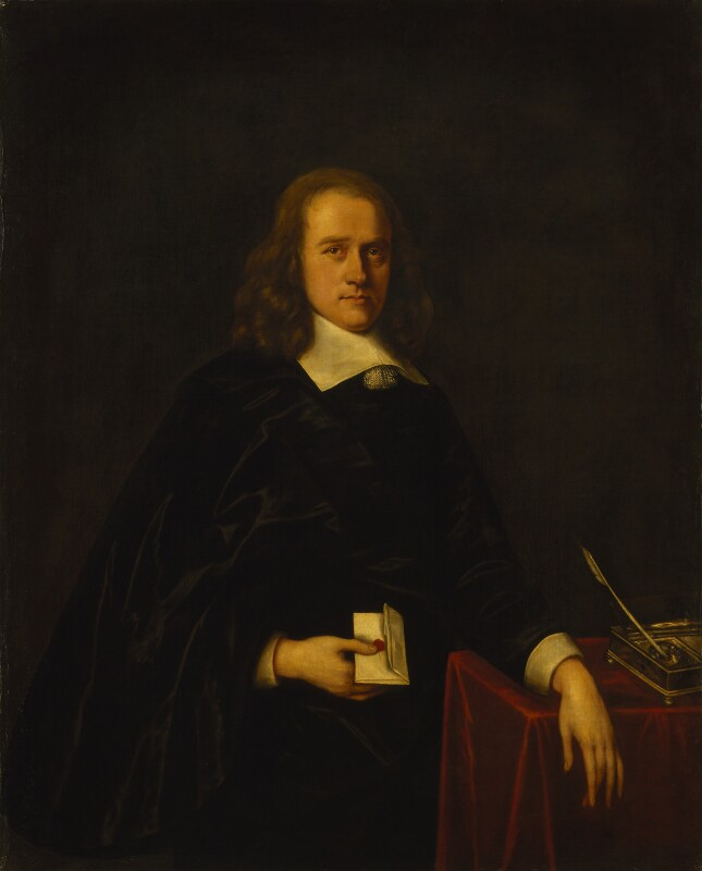 John Thurloe, by Unknown artist, perhaps 18th century, based on a work of 1650s - NPG 1033 - © National Portrait Gallery, London