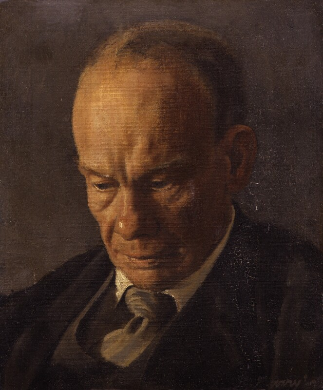 Henry Major Tomlinson, by Richard Murry, 1927 - NPG 4597 - © reserved; collection National Portrait Gallery, London