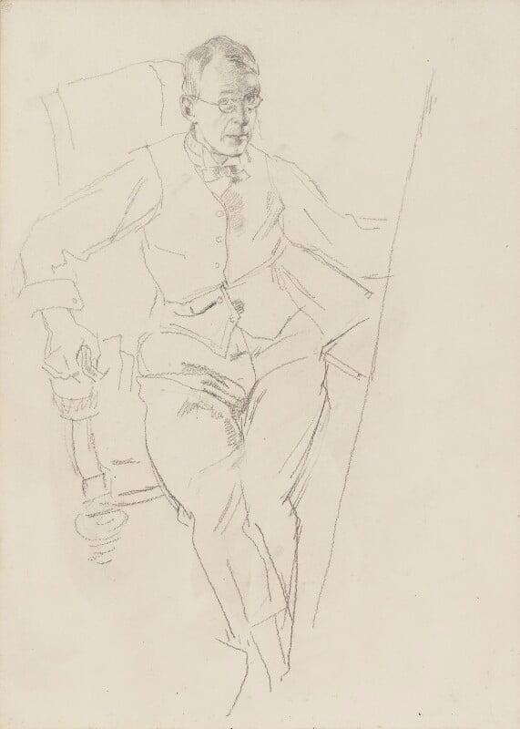 Henry Tonks, by Henry Tonks, 1900-1925 - NPG 3072(5) - © National Portrait Gallery, London