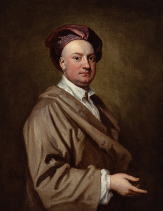 Jacob Tonson II, by Sir Godfrey Kneller, Bt, circa 1720 -NPG 4091 - © National Portrait Gallery, London