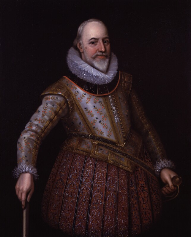 George Carew, Earl of Totnes, after Unknown artist, based on a work of circa 1615-1620 - NPG 409 - © National Portrait Gallery, London