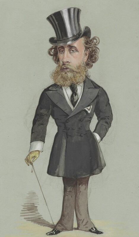 John Townshend, 5th Marquess Townshend, by Alfred Thompson (Atn), published in Vanity Fair 26 February 1870 - NPG 2604 - © National Portrait Gallery, London