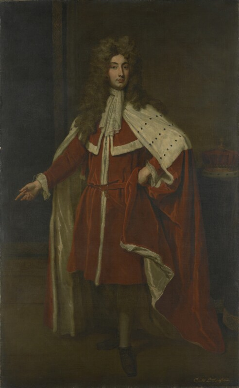 Charles Townshend, 2nd Viscount Townshend, by Sir Godfrey Kneller, Bt, 1704? -NPG 3623 - © National Portrait Gallery, London