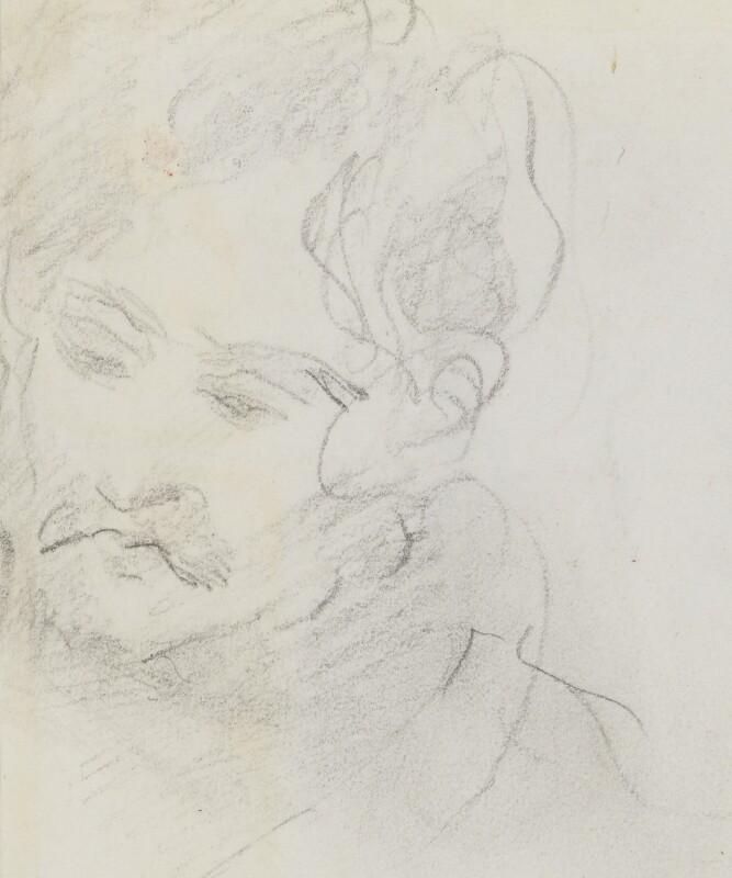 Edward John Trelawny, by Sir Edwin Henry Landseer,  - NPG 2886 - © National Portrait Gallery, London