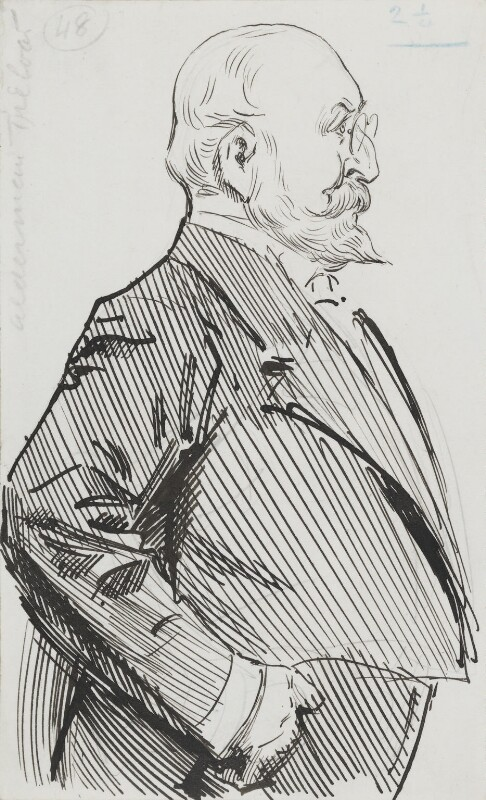 Sir William Purdie Treloar, Bt, by Harry Furniss, circa 1917 - NPG 3613 - © National Portrait Gallery, London