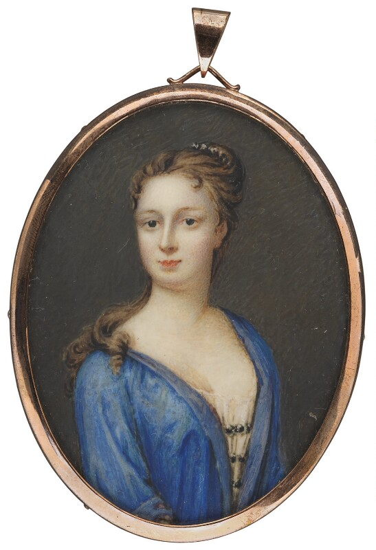 Elizabeth (née Steele), Lady Trevor, by Unknown artist, circa 1720-1723 - NPG 1506b - © National Portrait Gallery, London