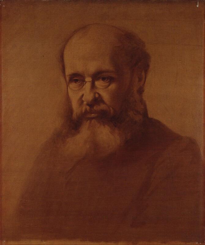 Anthony Trollope, by Samuel Laurence, circa 1864 - NPG 1680 - © National Portrait Gallery, London