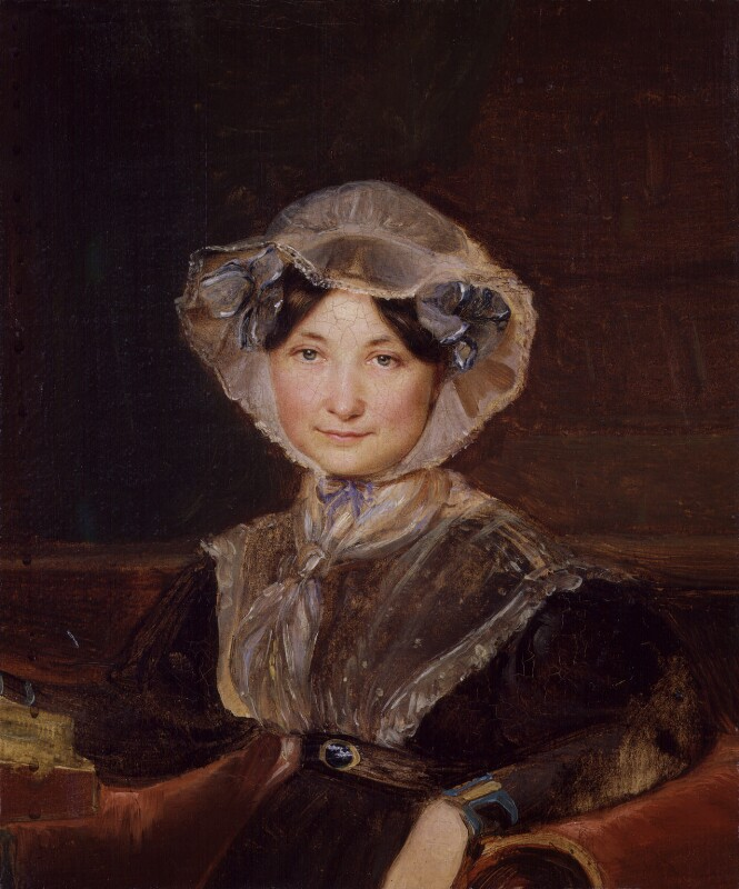 Frances Trollope, by Auguste Hervieu, circa 1832 - NPG 3906 - © National Portrait Gallery, London