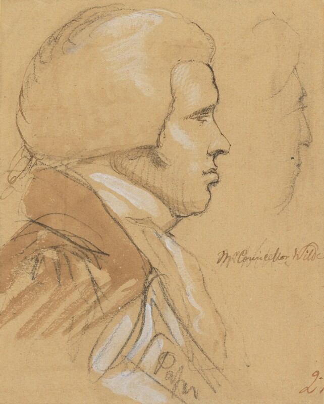 Thomas Wilde, 1st Baron Truro, by Sir George Hayter, 1820 - NPG 1695(o) - © National Portrait Gallery, London