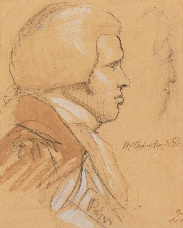 Thomas Wilde, 1st Baron Truro, by Sir George Hayter, 1820 -NPG 1695(o) - © National Portrait Gallery, London