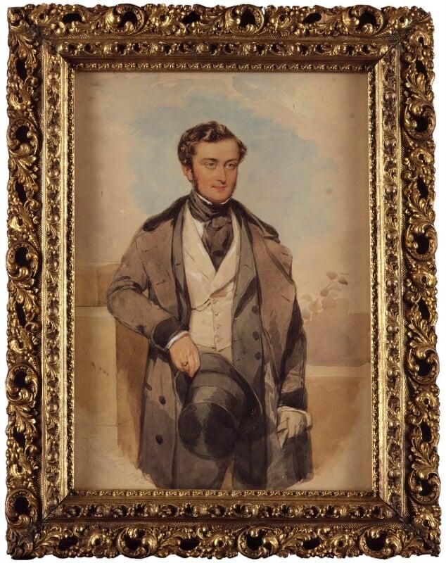Martin Farquhar Tupper, by François Theodore Rochard, 1846 - NPG 4381 - © National Portrait Gallery, London