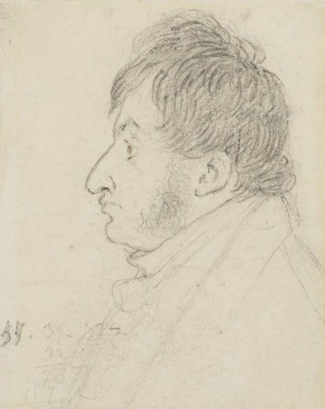 Joseph Mallord William Turner, by Charles Robert Leslie, 1816 - NPG 4084 - © National Portrait Gallery, London