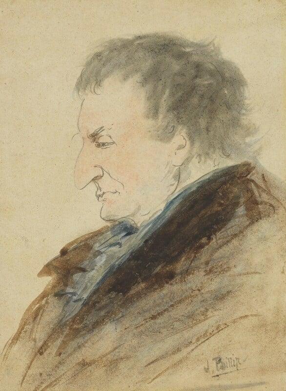 J.M.W. Turner, by John Phillip, circa 1850 -NPG 1717 - © National Portrait Gallery, London