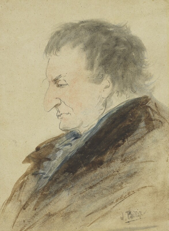 Joseph Mallord William Turner, by John Phillip, circa 1850 - NPG 1717 - © National Portrait Gallery, London