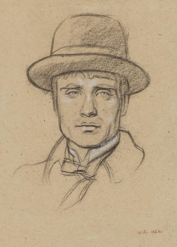Leon Underwood, by William Rothenstein, 1922 - NPG 4798 - © National Portrait Gallery, London