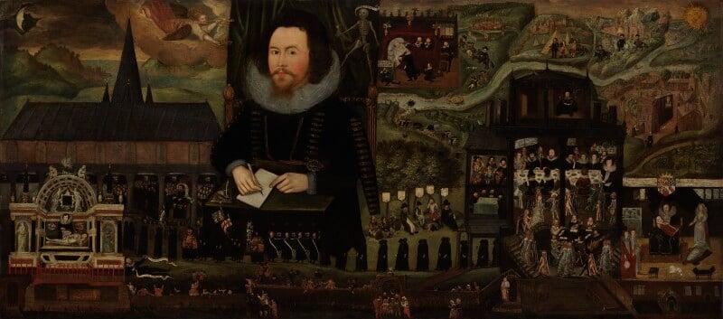 Sir Henry Unton, by Unknown artist, circa 1596 - NPG 710 - © National Portrait Gallery, London