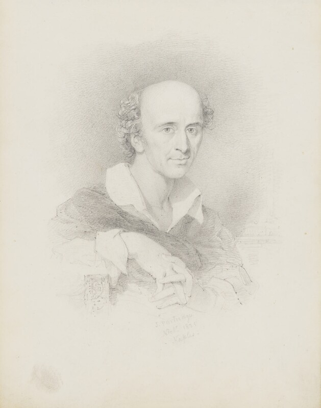 Thomas Uwins, by John Partridge, 1825 - NPG 3944(14) - © National Portrait Gallery, London