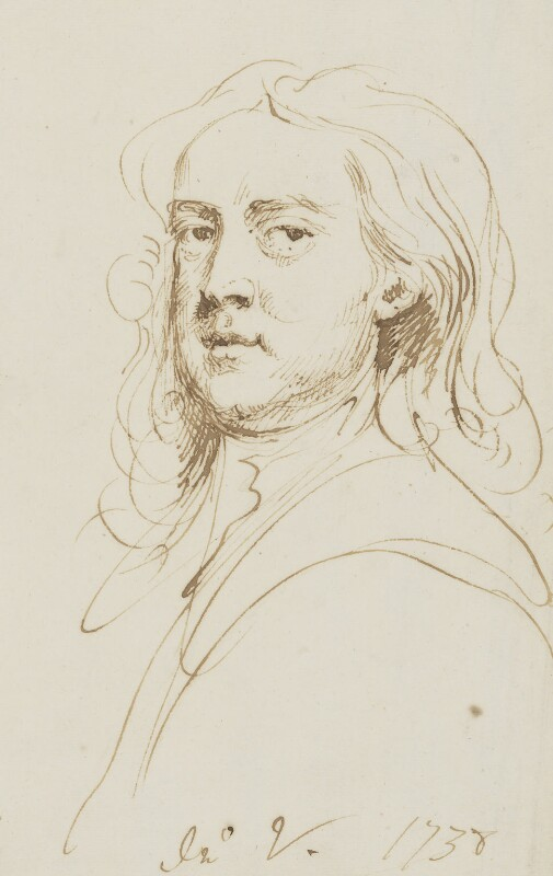 John Vanderbank, by John Vanderbank, 1738 -NPG 3647 - © National Portrait Gallery, London