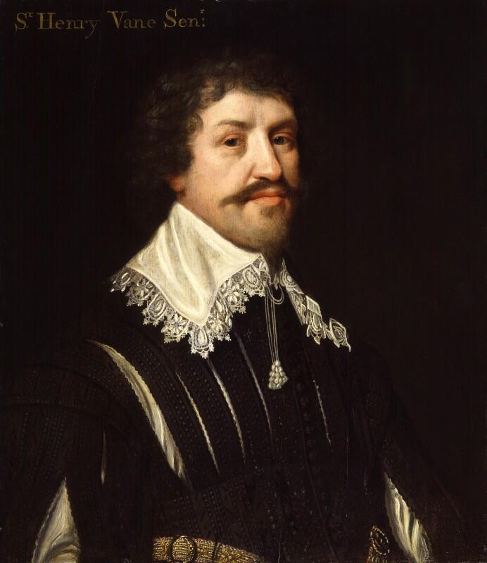 Sir Henry Vane the Elder, possibly after Michiel Jansz. van Miereveldt, circa 1642 - NPG 1118 - © National Portrait Gallery, London